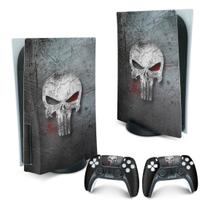 Skin PS5 Playstation 5 Adesivo - The Punisher Justiceiro - Pop Arte Skins