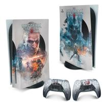 Skin PS5 Playstation 5 Adesivo - The Witcher 3 - Pop Arte Skins