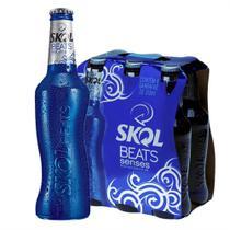 Skol Beats Senses com 6 Unidades de 313ML Cada -
