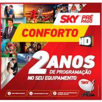 Sky Livre HD Conforto  com Globo e SBT + Antena 60 cm -