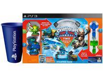 Skylanders Starter Pack Trap Team para PS3 - Activision 2 Unidades + Copo PlayStation Azul