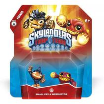 Skylanders Trap Team - Mini 2 Pack - Small Fry e Weeruptor - Activision