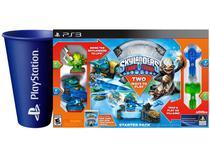 Skylanders Trap Team Starter Pack para PS3 - Activision 2 Unidades + Copo PlayStation Azul