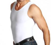 Slim Alta Compressão Postura Cinta Modeladora Masculina Fit C91 - Vcstilo