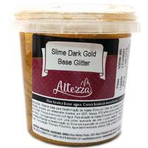 Slime DARK GOLD Base Glitter 400G - GNA