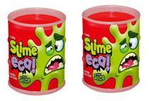 Slime Eca Vermelho Gelatinosa Geleca 2 Unidades - Dtc 4626 - Brinquedos