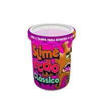 Slime Ecão Clássico Rosa 110G - DTC -