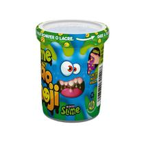 Slime Ecão Emoji - Azul - 110G - DTC -
