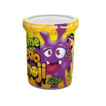 Slime Ecão Emoji - Roxo - 110g - DTC -
