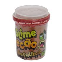 Slime Ecão Metalizado - 110g - Marrom - DTC -