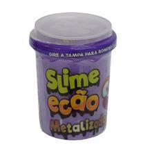 Slime Ecão Metalizado - 110g - Roxo - DTC -