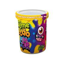 Slime Ecão Muda de Cor - Roxo - 110G - DTC -