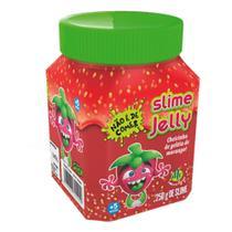 Slime Jelly com Cheirinho de Geléia de Morango 300gr- DTC -