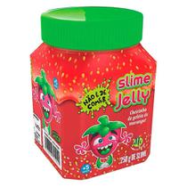 Slime Jelly com Cheirinho - Morango - DTC -