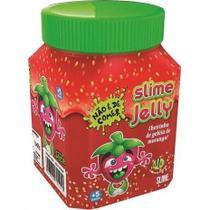 Slime Jelly Geleia de Morango com Cheirinho 300 g DTC -
