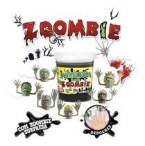Slime Kimeleka Zoombie Dedoches Kit C/ 06 Unidades Acrilex -