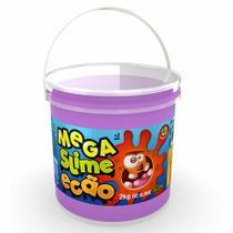 Slime Mega Pote de Slime Ecao Roxo 2Kg Dtc -