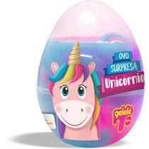 Slime ovo surpresa unicornio doce brinquedo -