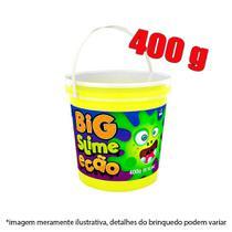Slime pote com 400g - amarelo - Dtc