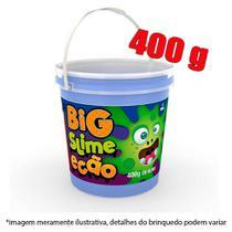 Slime pote com 400g - azul - Dtc