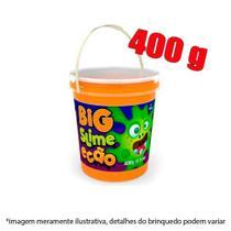 Slime pote com 400g - laranja - Dtc