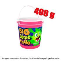 Slime pote com 400g - rosa - Dtc