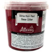 Slime RICH RED Base Glitter 400G - GNA
