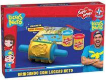 Slime Super Massa Brincando com Luccas Neto - Estrela -