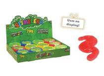 Slimeleka Massa Geleca Slime 12 Potes 70g Coloridos Unik -