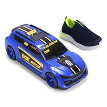 Slip On Infantil Dok Racer Masculino + Carrinho -