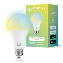 Smart Lâmpada Wi-Fi Led 10W Positivo Casa Inteligente - Branca -