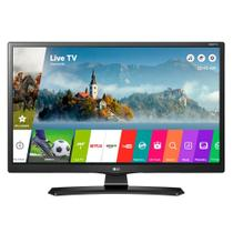 Smart TV 24 LCD LED LG 24MT49S-PS, HD, com Wi-Fi, USB, 2 HDMI, Função Monitor Screen Share e Cinema Mode