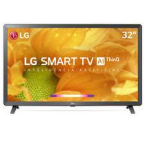 "Smart TV 32"" LG LCD HD 32LM625BPSB ThinQ AI Inteligência Artificial webOS 4.5 HDR 3 HDMI 2 USB -"