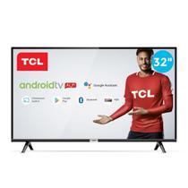 """Smart TV 32"""" TCL LED HD 32S6500 Android Bluetooth com Comando de Voz HDR 2 HDMI 1 USB -"""