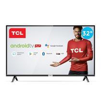 Smart TV 32' TCL LED HD 32S6500 Android Bluetooth com Comando de Voz HDR 2 HDMI 1 USB -