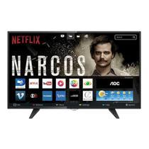 """Smart TV 43"""" AOC LED LE43S5970 Full HD, 3 HDMI, 2 USB -"""