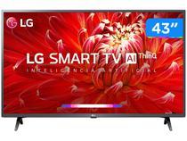 "Smart TV 43"" Full HD LED LG 43LM6370PSB 60Hz - Wi-Fi Bluetooth HDR 3 HDMI 2 USB"