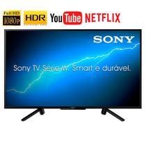 Smart TV 43 LCD LED Sony KDL43W665F HDR, Wi-Fi, HDMI, USB, Motionflow, XR240 X Reality Pro