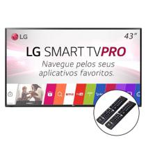 Smart tv 43 lg 43lj551c full h conversor 2 hdmi 1 usb