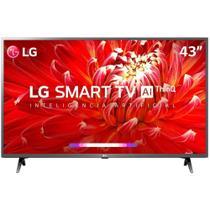 "Smart TV 43"" LG LCD Full HD 43LM6300PSB ThinQ AI Inteligência Artificial webOS 4.5 HDR 3 HDMI 2 USB -"