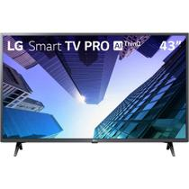 "Smart TV 43"" LG LCD Full HD LM631C0SB Pro ThinQ AI Inteligência Artificial HDR Ativo 3 HDMI 2 USB -"