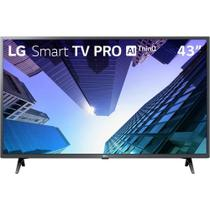 Smart TV 43' LG LCD Full HD LM631C0SB Pro ThinQ AI Inteligência Artificial HDR Ativo 3 HDMI 2 USB -