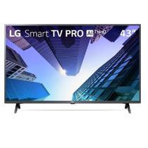 """Smart TV 43"""" LG PRO, Full HD, Bluetooth, WebOS 4.5, Virtual Surround Plus, 3 HDMI, 2 USB - 43LM631C0 - Lg eletronics"""