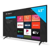 Smart Tv 43 Polegadas Aoc Led HD Roku 43s5195/78g -