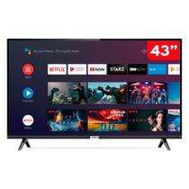 Smart TV 43 Polegadas LED HD TCL 43S6500FS com Android e comando de voz Bivolt