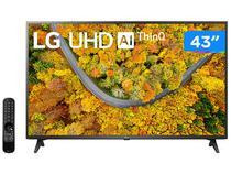 "Smart TV 43"" Ultra HD 4K LED LG 43UP7500PSF - 60Hz Wi-Fi e Bluetooth Alexa 2 HDMI 1 USB"