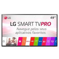 """Smart TV 49"""" Full HD LG, Preta, 49LJ551C, Wi-Fi, USB -"""