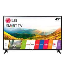 Smart TV 49 LCD LED LG 49LJ551C, Full HD, com Wi-Fi, 2 HDMI, USB, 60Hz, Modo Hotel -