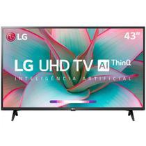 "Smart TV 4K 43"" LG LED Ultra HD 43UN7300PSC ThinQ AI webOS 5.0 HDR Ativo -"