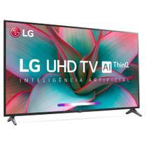 "Smart TV 4K 55"" LG LED Ultra HD 55UN7310PSC ThinQ AI IwebOS 5.0 HDR Ativo -"
